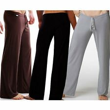 Britches Trousers  Loose Comfy Pajamas Pants Sleep  Smooth Lounge Homewear Men