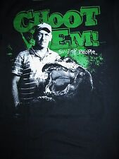 'CHOOT 'EM!' Troy Landry SWAMP PEOPLE History Channel t-shirt, Adult Small & Med