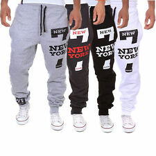 Fashion Men Jogger Dance Sportwear Baggy Harem Pants Slacks Trousers Sweatpants