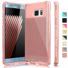 Hybrid Rugged Rubber Protective Slim Hard Case Cover for Samsung Galaxy Note 7