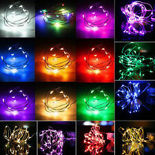 2M 20 mini LED String Fairy Light Battery Operated Xmas Light Party Wedding Lamp