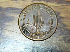 USA, Arizona State Tax Commission, copper token. Good looking brown patina.