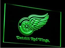 Detroit Red Wings LED Neon Sign Light NHL Hockey Sports Team