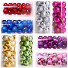 Durable 24PCS Balls Baubles for Christmas Tree Xmas Party Decorations Hot
