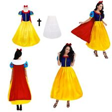 White Princess Costume Adult Halloween Cosplay Party Ball Gown Fancy Xmas Dress