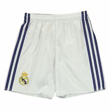 Adidas Real Madrid Home Shorts 2016 2017 Juniors White Football Soccer