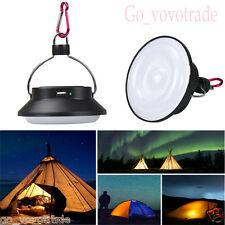 Solar Power LED Bright Outdoor Camping Night Tent Light Lantern Hiking Lamp New