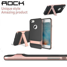Rock For iPhone 7/ 7 Plus Stand Slim Bumper Frame Hybrid PC+TPU Back Case Cover