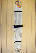 HILASON 17 STRAND STRAIGHT MOHAIR WOOL HORSE CINCH GIRTH MADE IN THE USA