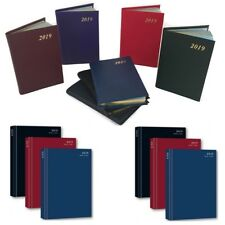 2017 A4/A5/A6 Diary Day to Page or Week to View Desk Diary Hard Backed Diary UK