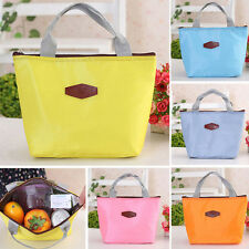 New Thermal Insulated Waterproof Lunch Box Picnic Tote Storage Carry Bag Picnic