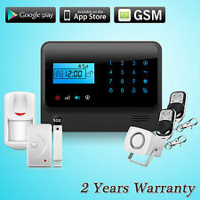 G90E GSM SMS Wireless Home Burglar Intrude Alarm Security System Accessories Kit