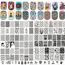 BORN PRETTY Nail Stamping Image Plates Nail Art Manicure Stamp Stencil Template