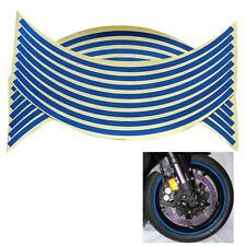 """18"""" 5 Colors Car Motorcycle Wheel Rim Stripe Tape Reflective Decal Stickers  BB"""