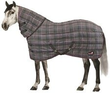 Masta Quiltmasta 350 Check Channel Quilted Fixed Neck Stable Rug ALL SIZES