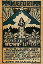 Maefort-Hungary's first airline Vintage Travel Austria-Hungary Print POSTER