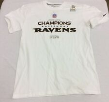 NFL Mens Nike Baltimore Ravens 2012 AFC Trophy Collection T-Shirt White