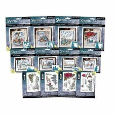 Sheena Douglass Perfect Partners Scenic Winter Cutting Dies & Rubber Stamps