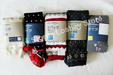 Girls Footless Footed Assorted Fun Design Colorful Winter Thick Tights Stockings