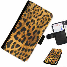SKIN16 ANIMAL PRINT PRINTED LEATHER WALLET/FLIP PHONE CASE COVER FOR ALL MODELS