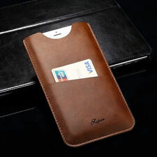 For iPhone 7/7 Plus Leather Wallet Carry Pouch Sleeve Card Slot Case Holster