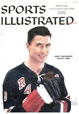 1959 Andy Bathgate New York Rangers No Label Sports Illustrated