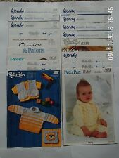 20 X Knitting Patterns Babies & Childrens Clothes.Blankets.