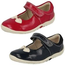 Girls Clarks Shoes with Bow Design - Softly bow