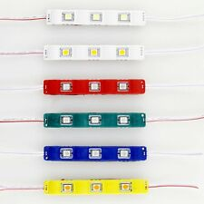 5050 3LED SMD Module Injection Decorative Waterproof LED Strip Light Lamp DC 12V