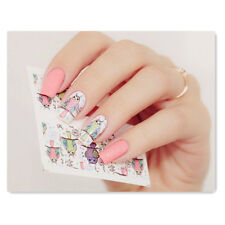 2 Patterns/Sheet Owl Nail Art Water Decals Transfer Sticker BORN PRETTY BP-W02