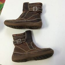 naturino unisex Leather Ankle boots Euro Size  28 brown