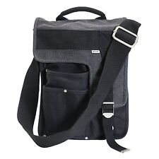 Ducti Messenger Bags - Durable, Stylish Bags for Life - Black Deployment