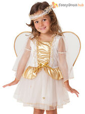 Child Toddler Angel Costume Girls Christmas Nativity Fancy Dress Kid Xmas Outfit