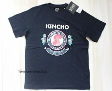 UNIQLO Men The Brands KINCHO Mosquito Coils T-shirt Black from Japan New