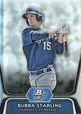 2012 Bowman Platinum Prospects #BPP100 Bubba Starling