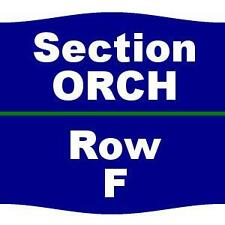 2 Tickets Foreigner 1/31/17 The Plaza Theatre Performing Arts Center