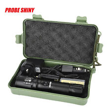 6000LM Zoomable CREE T6 LED 5 Modes Tactical Flashlight Lamp Battery Charger NEW