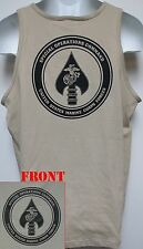 USMC MARSOC TANK TOP T-SHIRT/ MILITARY/ THICK/ USMC RECON/ SPECIAL FORCES/  NEW