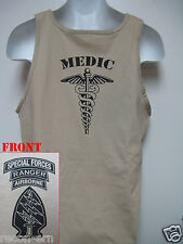 SPECIAL FORCES AIRBORNE RANGER MEDIC TANK TOP/ NEW/ MILITARY
