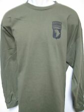 101 AIRBORNE RANGER LONG SLEEVE T-SHIRT/ front print only / ARMY T-SHIRT/ NEW