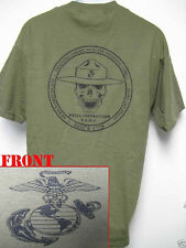 USMC T-SHIRT/ DRILL INTRUCTOR T-SHIRT/ MARINES T-SHIRT/ MILITARY/ NEW