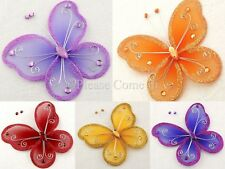 "Stocking Nylon Butterfly 11cm (4-1/2"") Party Wedding Decorations"