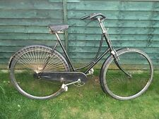 Rudge Whitworth Roadster Deluxe 1920/30s Antique ladies bike. Vintage Bicycle.