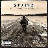 Illusion of Progress [PA] by Staind (CD, Aug-2008, Atlantic (Label))
