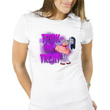 """Trick or Treat"" Cute Zombie Girl Spooky Scary Halloween Costume Party T-Shirt"