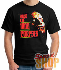 T-SHIRT HOUSE OF 1000 CORPSES-AMERICAN HORROR  T-SHIRT GUY/A/STRAPS/BOY