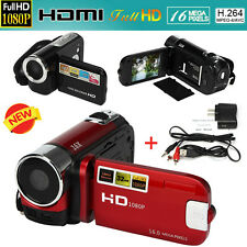 "2.7"" TFT LCD 16X Full HD 1080P 16MP Zoom Digital Camcorder Video DV Camera HDMI"