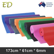 Brand New Free Postage Extra Thick 6MM Nonslip PVC Yoga Gym Pilate Mat