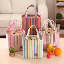Portable Kitchen Picnic School Lunch Box Tote Cooler Bag Bento Pouch Container