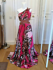 Jovani Evening Dress Hot Pink Floral
